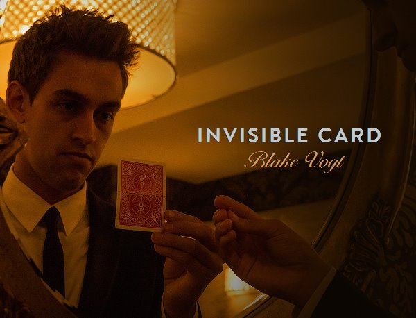 Invisible Card by Blake Vogt