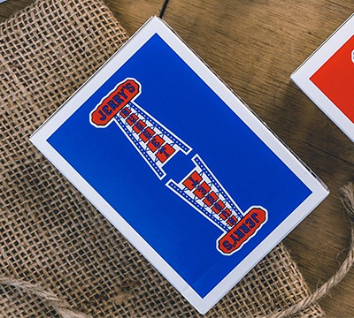 Modern Feel Jerry's Nuggets (Blue) Playing Cards