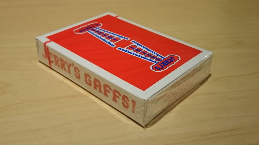 Modern Feel Jerry's Nuggets Gaff Playing Cards