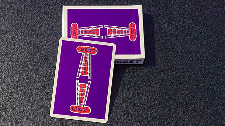 Modern Feel Jerry's Nugget (Royal Purple) Playing Cards
