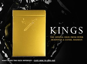 Kings Playing Cards by Peter McKinnon and Daniel Madison