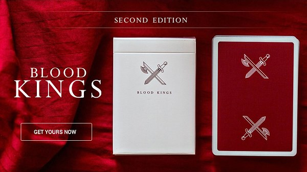 Kings Playing Cards [BLOOD V2] by McKinnon and Madison