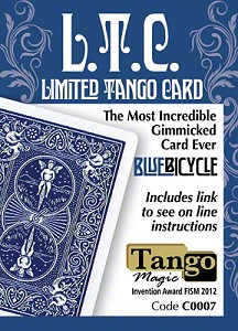 L.T.C. : Limited Tango Card (Blue) by Tango