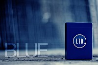 LTD. (Limited) Playing Cards [BLUE] by Ellusionist
