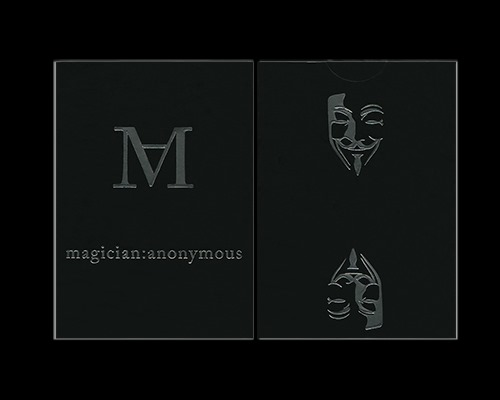 Magician:Anonymous Playing Cards by US Playing Cards