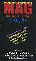 Magnetic Cards (Red) by Chazpro Magic