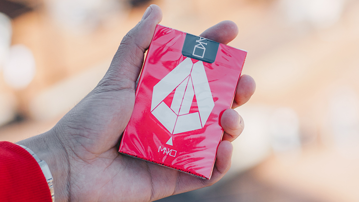 Mako Red Playing Cards Limited Edition by Toomas Pintson