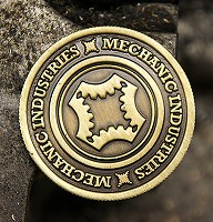 Mechanic Coin (Half Dollar/Bronze) by Mechanic Industries