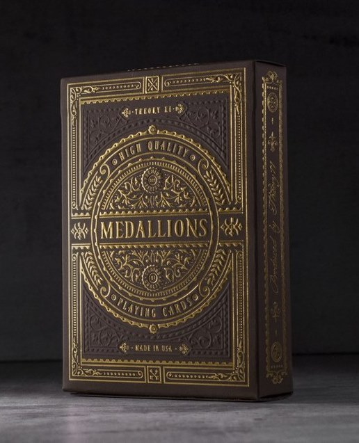 Medallion Playing Cards [New Edition] by Theory11<br /><span class=&quot;smallText&quot;>[DECK_MEDALLION2]</span>