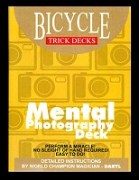 Mental Photography Deck Bicycle (Red)