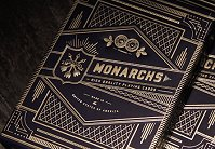 Monarch Playing Cards [Navy] by Theory11