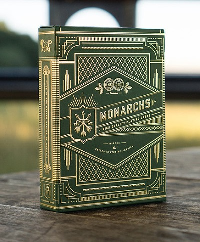 Monarch Playing Cards [Green] by Theory11