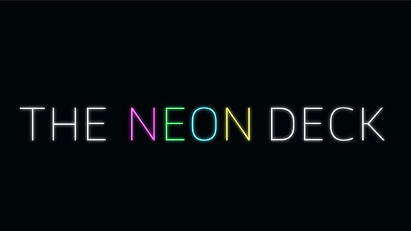 Neon Deck (Blue) by SansMinds