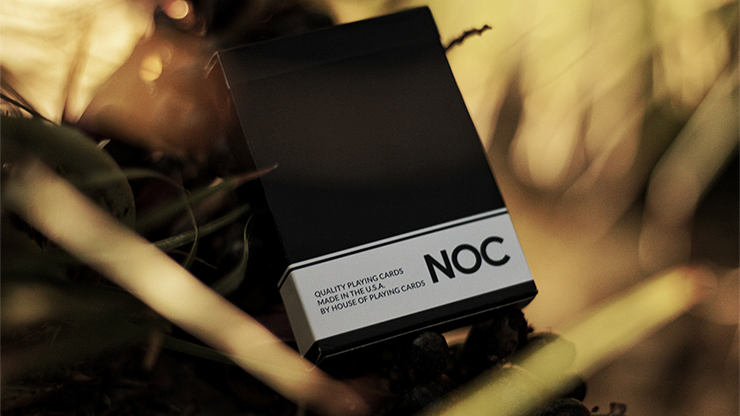 NOC Original Deck (Black) Printed at USPCC by The Blue Crown<br /><span class=&quot;smallText&quot;>[DECK_NOCORG_BLACK]</span>