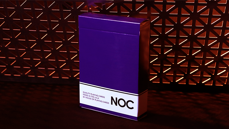 NOC Original Deck (Purple) Printed at USPCC by The Blue Crown<br /><span class=&quot;smallText&quot;>[DECK_NOCORG_PURPLE]</span>