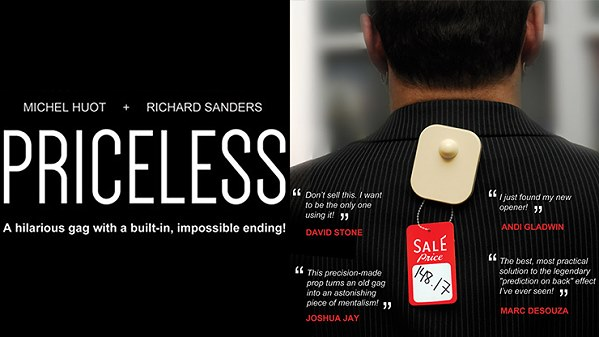 Priceless by Michel Huot and Richard Sanders