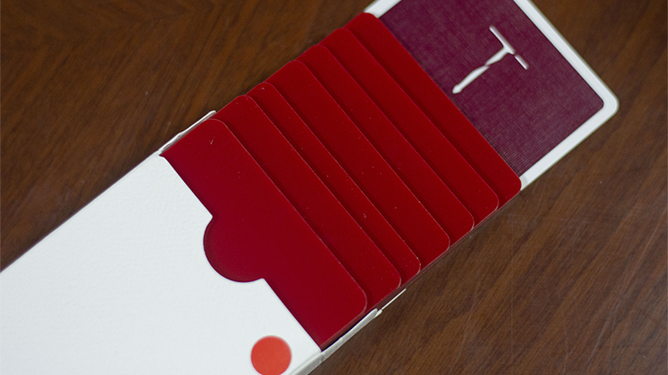Pure Cardistry (Red) Training Playing Cards<br /><span class=&quot;smallText&quot;>[DECK_PURECARDISTRY_RED]</span>