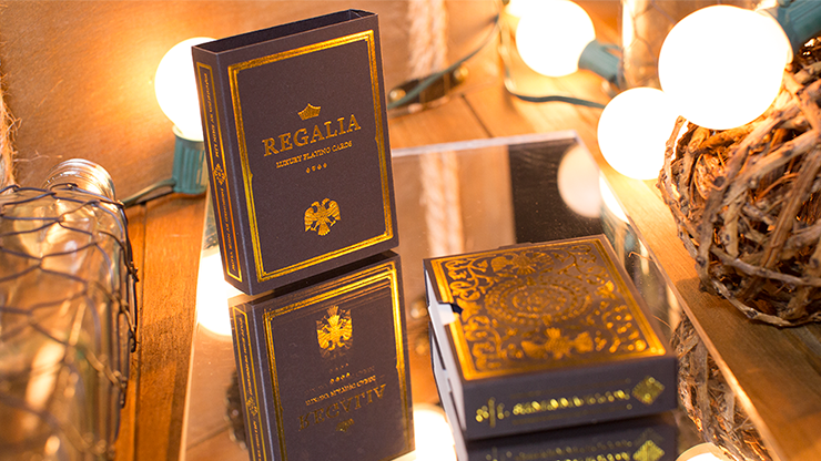 Regalia Playing Cards by Shin Lim<br /><span class=&quot;smallText&quot;>[DECK_REGALIA]</span>