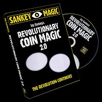 Revolutionary Coin Magic 2.0 by Jay Sankey<br /><span class=&quot;smallText&quot;>[DVD_REVOLUTIONARYCOIN2]</span>