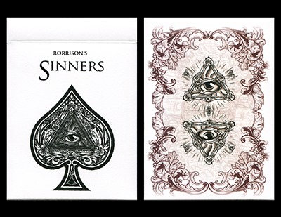 Rorrison's Sinners Deck by USPCC and Enigma Ltd.