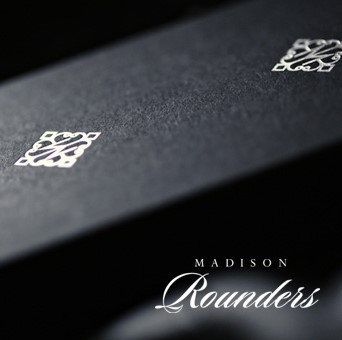 Madison Rounders Playing Cards [WHITE] by Daniel Madison