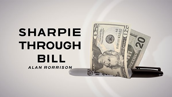 "Sharpie Through Bill by Alan Rorrison and SansMinds<br /><span class=""smallText"">[DVD_SHARPIETHROUGHBILL]</span>"