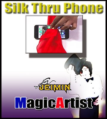 Silk Thru Phone by Jeimin Lee