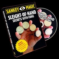 "Sleight Of Hand Secrets With Coins by Jay Sankey<br /><span class=""smallText"">[DVD_SLEIGHTOFHANDCOINJS**!]</span>"