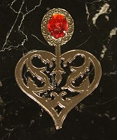 Suit Bookmark (Heart/Red)