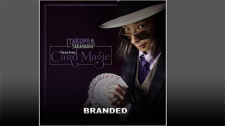 Takumi Takahashi Teaches Card Magic - Branded