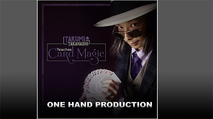 Takumi Takahashi Teaches Card Magic - One Hand Production