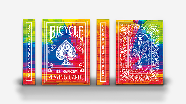 TCC Rainbow Playing Cards