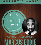 At the Table Live Lecture - Marcus Eddie 7/2/2014 -