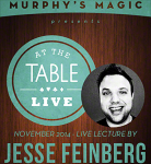 At the Table Live Lecture - Jesse Feinberg 11/5/2014 -
