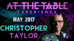 At The Table Live Lecture Christopher Taylor May 17th 2017