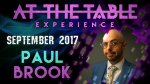 At The Table Live Lecture Paul Brook September 20th 2017