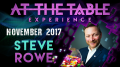 At The Table Live Lecture Steve Rowe November 1st 2017