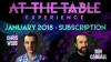 At The Table January 2018 Subscription