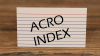 Acro Index by Blake Vogt