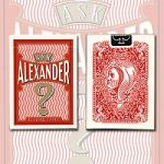 Ask Alexander Playing Cards [Limited Edition] / Conjuring Arts