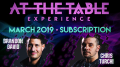 At The Table March 2019 Subscription