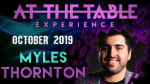 At The Table Live Lecture Myles Thornton October 16th 2019