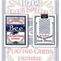 Bee Erdnase 1902 - Blue Smith No.2 Back (Cambric)