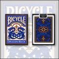 Bicycle Dragon Back (Blue) / USPCC