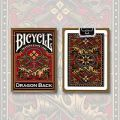 Bicycle Dragon Back (Gold) / USPCC