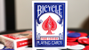 Bicycle Faro (Blue) Limited Edition Playing Cards
