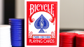 Bicycle Faro (Red) Limited Edition Playing Cards
