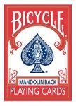 Bicycle 809 Mandolin Back (Red) by USPCC