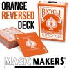 Bicylce Orange Reversed Back