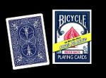 Bicycle 100% Plastic Cards (Blue)